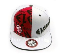 Free Shipping Skateboard letters embroidery Hip-hop cap, Truck hat, Sport caps, Flat brimmed hats, 2 color 20pcs/lot