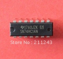 SN74HC14N 74HC14 NEW IC DIP14 HEX SCHMITT-TRIGGER INVERTERS FOR HOT SALE High Quality(China (Mainland))