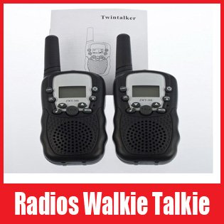 Brand New Twintalker 0.5W UHF Auto Multi-Channels Two Way Radios Walkie Talkie T-388-2. Free Shipping