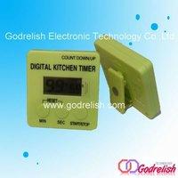 mini digital count down timer,kitchen timer