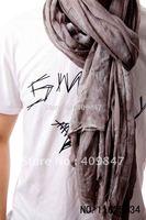 2013 Hot !!! Men's Scarf Fashion Keffiyeh Cotton Shawls Silk Crochet Elegant Scarfs 194cm*92cm 5Pcs/lot $15 off per $150 order