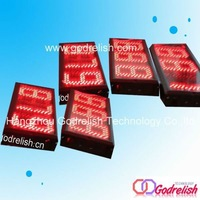 Hot selling  New 2014 GODRELISH Brand Red color 3 digital led countdown and count up timer GT5035