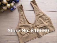 high quality!Hot sales 90pcs/lot free shipping seamless bra yoga tops sports bra Ahhhh bra 3pcs/sets