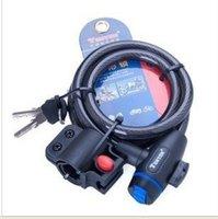 2012hot sales,Bicycle locks, motorcycle locks, bicycle locks, bicycle locks, shear pull,  lock master,cable locks,free shipping.