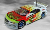 free shipping HSP 1/10 Scale Electric Powered On-road Racing rc Car 94103 pro with 2.4G transmitter brushless ESC