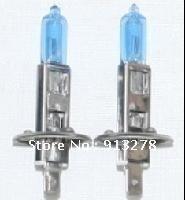 H1 12V 55W New White Light Bulbs 6000K 2 Pcs Halogen Xenon