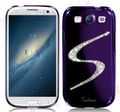 Free Shipping Hot Sell Shinning Swarovski Daimond S Pattern Dreamplus Electroplated Hard Case for Samsung Galaxy S3 I9300