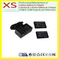 2x Battery+Charger for TOSHIBA PDR-T20 PDR-T30 PDR-5300 PDR-BT3 CAMILEO PRO H10 H20 S10 ALLEGRETTO 5300