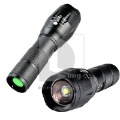 High Quality Water- Resistant 1800LM CREE Led Flashlight Torch with Dimmer free shipping