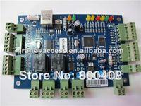 TCP/IP type GAC-TCP/IP2 double Door Access Controller board with software,single door access control