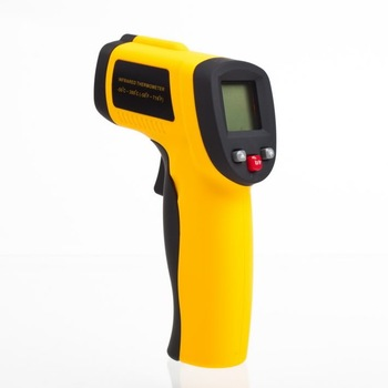 New LCD  Digital  Non-Contact Infrared IR Thermometer With laser