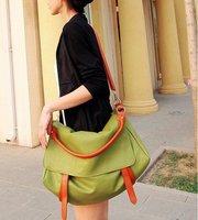 Free shipping Big Soft PU bag Women shoulder leisure handbag fashion designer messenger bags 3 colors SH16