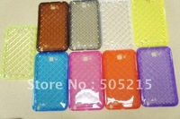 20pcs/lot TPU GeL Bling Case Cover Skin for Samsung Galaxy Note N7000 I9220 Big Diamond Pattern