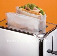 In Bulk 16*16.5cm PTFE Reusable Toaster Bag Easy Sandwich SGS FDA 50pcs/lot