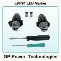 2012 Newest No O.B.C Error 6W LED Marker Angel Eyes For  BMW E90/91