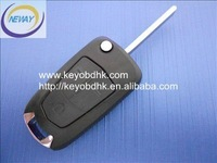 Opel 3 buttons flip key shell