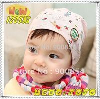 MZ#022 NEW !!! MEDO&JOJO ROSE little BABY SIGN children caps /cotton children hat baby hat 10pcs=1lot  MIX COLORS