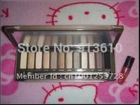 *Best Selling 2012 Makeup! 6 Pcs New Arrival N 2 12 Colors Eyeshadow & Lip Gloss!