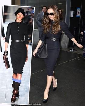 Strap 2012 autumn VB fashion slim one-piece dress military style casual dresses