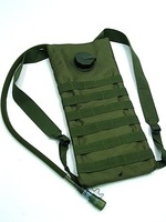 Molle SWAT Tactical 3L Hydration Water Backpack green color free ship