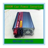 HOT sale!!! 12VDC or 24VDC to 220VAC 1000W Modified Sine Wave USB Mobile Car Power Inverter