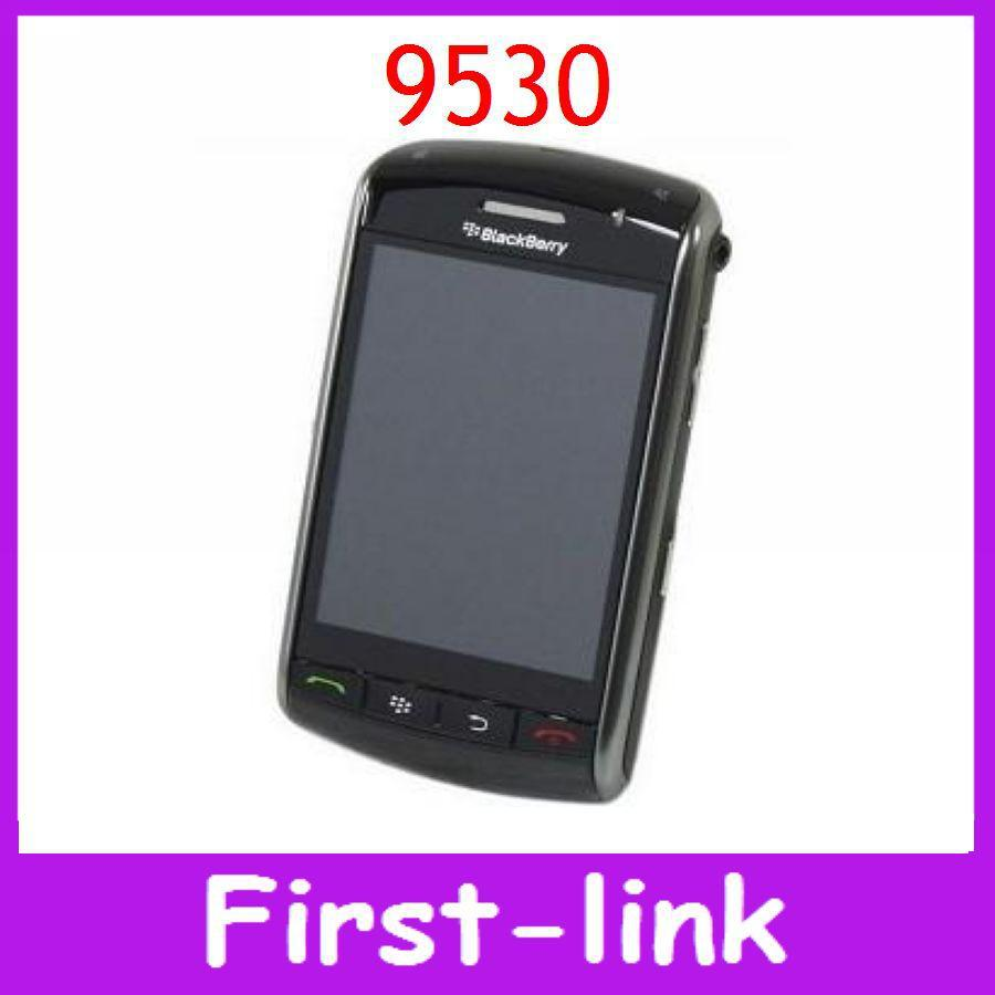 12 months warranty Unlocked original Blackberry 9530 storm Mobile cell phone free shipping(China (Mainland))