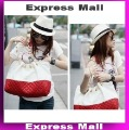 New Arrival Fashion Ladies' Handbag,Exquisite PU Shoulder Bag,Red & White Handbags,Hot Sale Tote