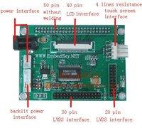 LVDS Connector Board / Driver Board/ 10.4 inch LCD Appropriative Driver Board
