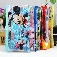 Free Shipping 24 Set Popular Cartoon Stationary Set  7 IN 1 / Pencil Bag, Pencil, Eraser, Ruler, Sticker School Tools set.