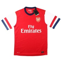 Arsenal  Home 2012/2013 season jersey and shorts kit,soccer Uniforms,sports jerseys have embroidered logo