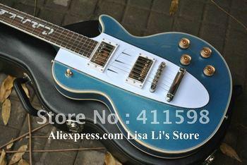 blue Custom Shop 1960 Corvette electric guitar