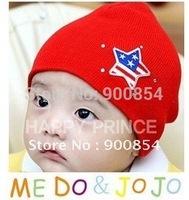 MZ#027 b.b.bear brand FASHION STAR BRONZING STONES children cap/cotton children hat baby hat 10pcs=1lot  MIX COLORS