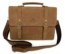 leather satchel briefcase promotion