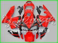 Free shipping Windscreen+all glossy red ABS plastic fairing for HONDA CBR600 RR 03 04 CBR 600RR 2003 2004 CBR600RR 03-04 TH57