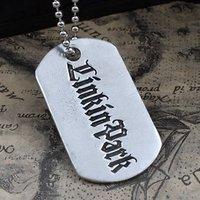 LP linkin park goth pendant necklace