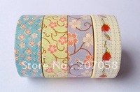 Канцелярская клейкая лента multipatterns washi 10meters * 1,5