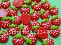 30Upick Small strawberries the Flat back the Buttons Scrapbooking Kid 'sDIYCraft