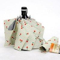 Free Shipping large UV cherry designer Automatic  umbrella, 1pc