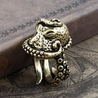 vintage octopus ring