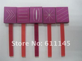 Free  shipping  5pcs  Nail  Art  Magnet  Tip  Pattern  Slice  Board  Tool  For  Magnetic  Magnet  Nail Polish   Strip