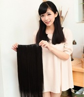 "22"" 85g Silky Straight india blended human hair ,clip in human hair extension #2, 5clips a set ,free shipping"