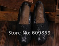 Wholesale mixed style/color canvas shoes casual shoe Glitters for lover (20 pairs)20pcs free shipping