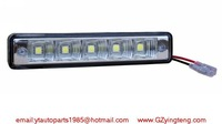 3W X 2PCS 9-30DC 5pcs 5050 LED chip 3W LED-Daytime-Running-Light DRL IP67