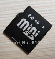 Wholesale Mini SD memory card 1GB 2GB 4GB for Nokia N73 N80 N93 E61 full capacity MOQ 1pc Free shipping