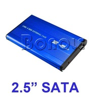 Holiday Sale! 2.5 inch USB 2.0 SATA HDD Case HD Hard Drive Disk Enclosure 182