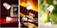 free shipping novelty DIY LED night lamp table lamp decoration romantic coffee Usb or battery promotion christmas gifts