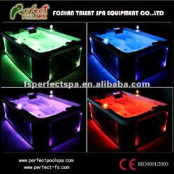 Mini LED outdoor hot tubs/ bathtubs/ spa pool/ whirlpool tubs cheap price(China (Mainland))