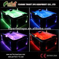 Mini LED outdoor hot tubs/ bathtubs/ spa pool/ whirlpool tubs cheap price