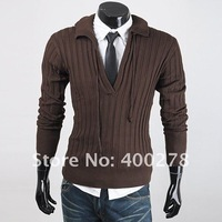 Мужской кардиган Special offer Fashion Men's Bear Cardigan Pullover Sweater 7 COLOE SIZE M-XXL W20