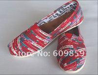 2012 NEW Euramerican style Dazzle colour design Canvas shoes (20pcs/lot)